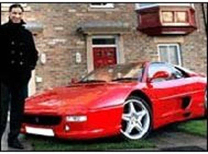 Ev alana Ferrari bedava